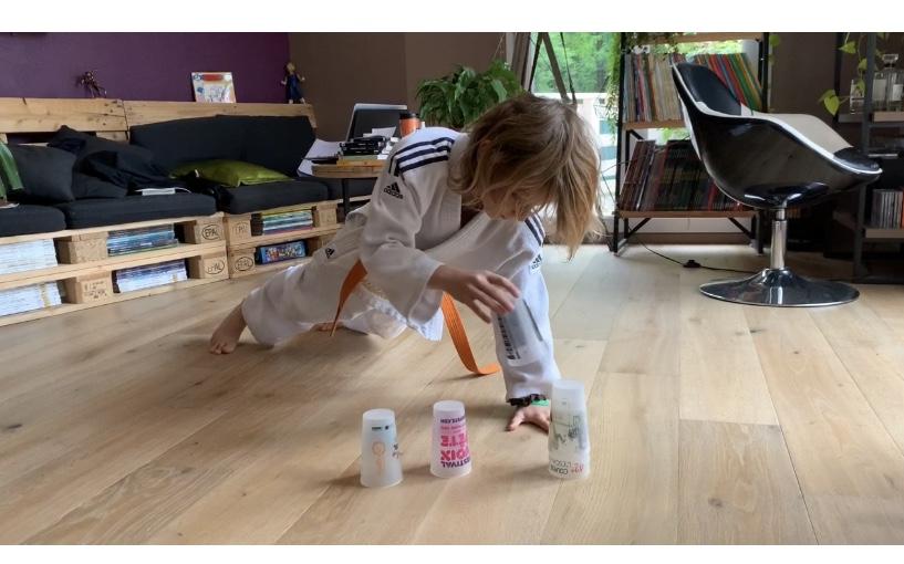 Clip n° 2 : Exercices à la maison pour les petits Judokas et Judokates